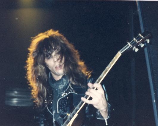 "Kix Blow My Fuse guitarist Brian ""Damage"" Forsythe"