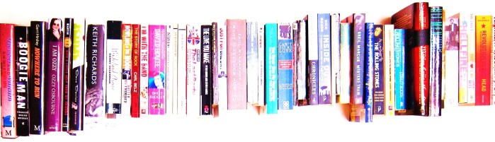 Rock Star biography Best Music Books