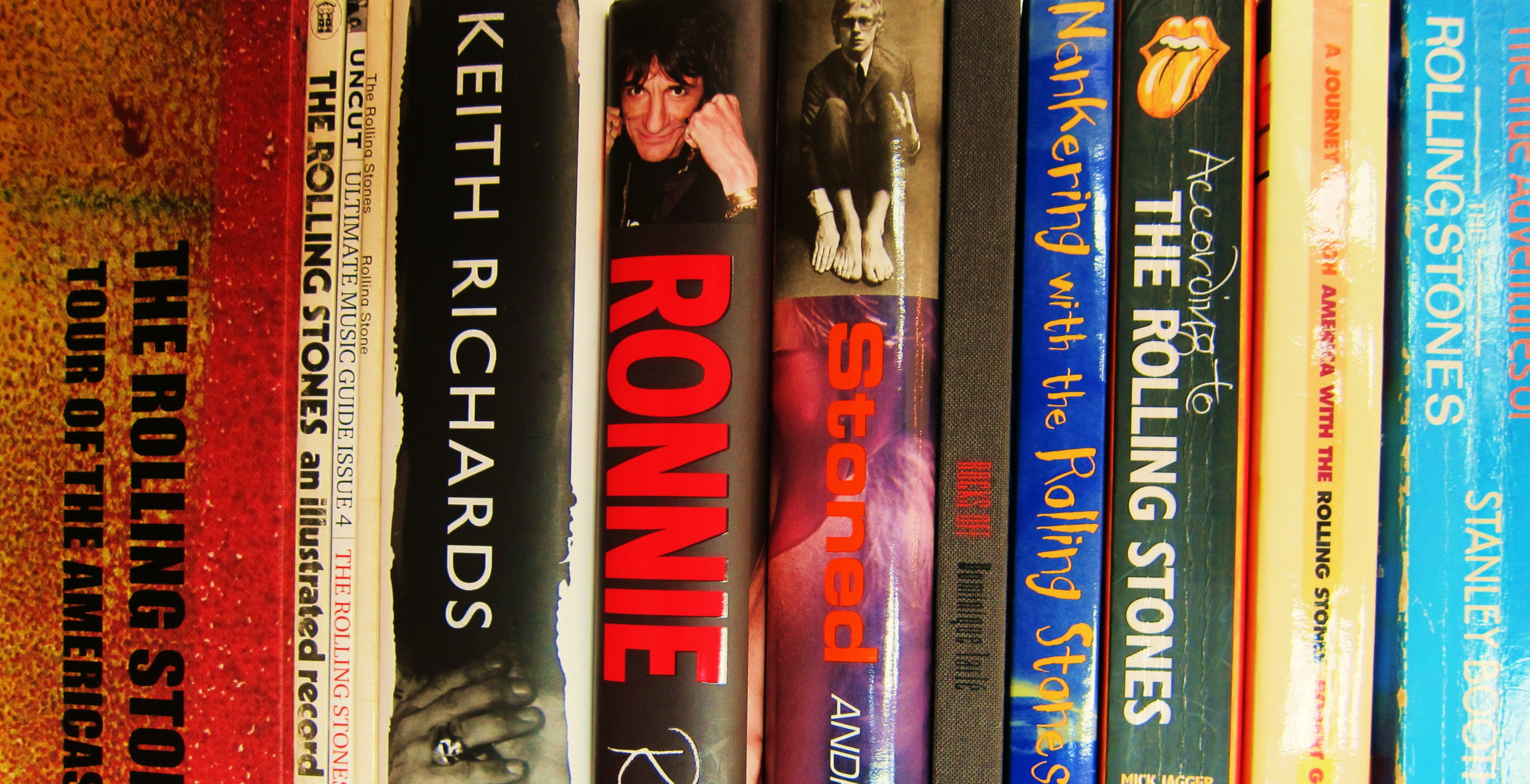 The Top Ten Best Rolling Stones Books…ever! – Every record