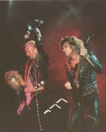 Rob Halford KK Downing Glenn Tipton 1989 Odeon