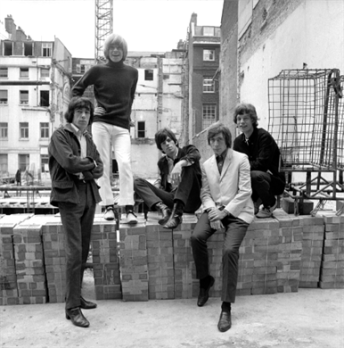 Rolling Stones Ormond Masons Yard Bricks Snap Gallery Gered Mankowitz Jagger