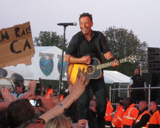 Bruce Springsteen at The Isle of Wight Festival 2012  3227a
