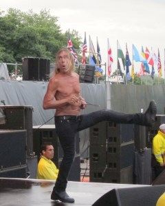 "London Hyde Park 2012 ""Iggy Pop"" goosestepping"