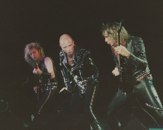 Time to swap the leather outfits for something more fashionable....