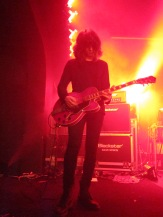 Rhys of The Horrors played at Southend's Chinnerys venue - a tiny club as part of JD's homecoming shows. Great band - looking forward to their new album (hopefully) in 2013.