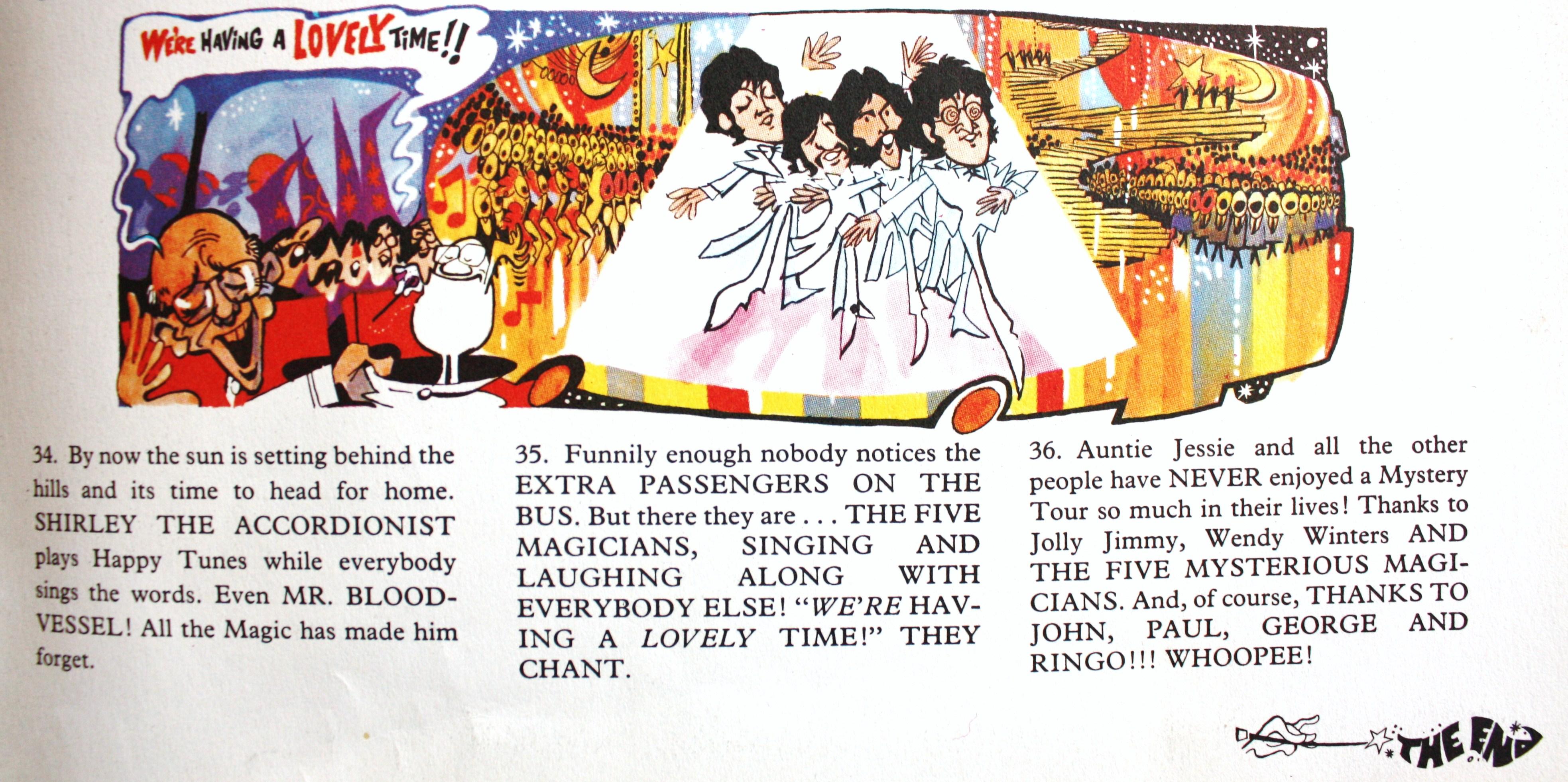Mystery Tour Lyrics
