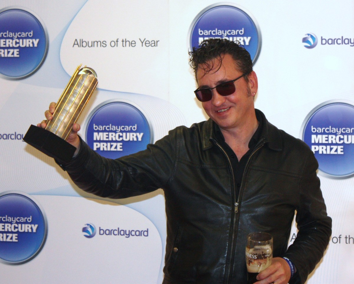 Richard Hawley Plan B At Barclaycard Mercury Prize Launch