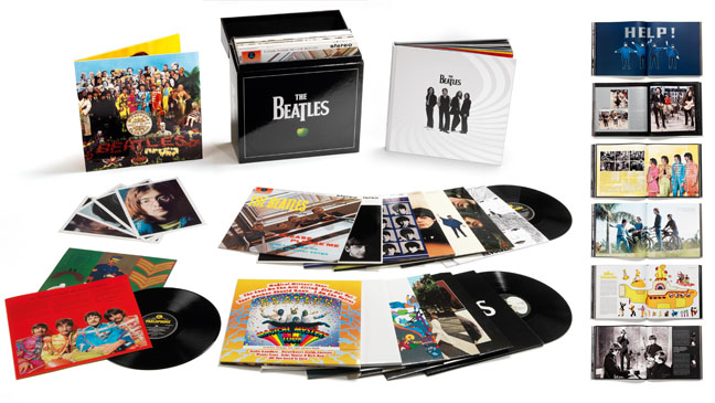 Beatles Box Set LPs Stereo