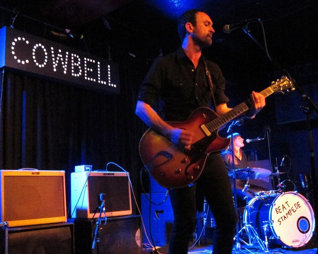 Cowbell The Band Jack Sandham Tallulah Beat Stampede Lexington