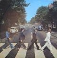 The Beatles Abbey Road LP cover. Paul will get cold feet not wearing any shoes. Unless he's already dead of course say the conspiracy theorists. Which he isn't.