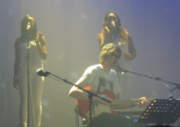 Jason Pierce of Spiritualized and backing singers at Camden Roundhouse