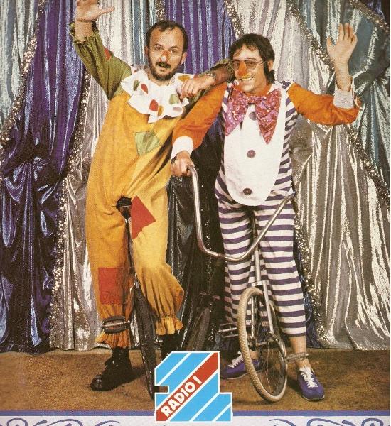 Tommy Vance - with John PeelPhoto from the Radio 1 DJ Calendar 1981