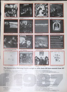 Places 5-20 of Kerrang's Albums of 1987