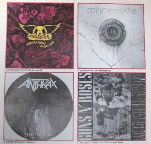 Kerrang Albums of 1987