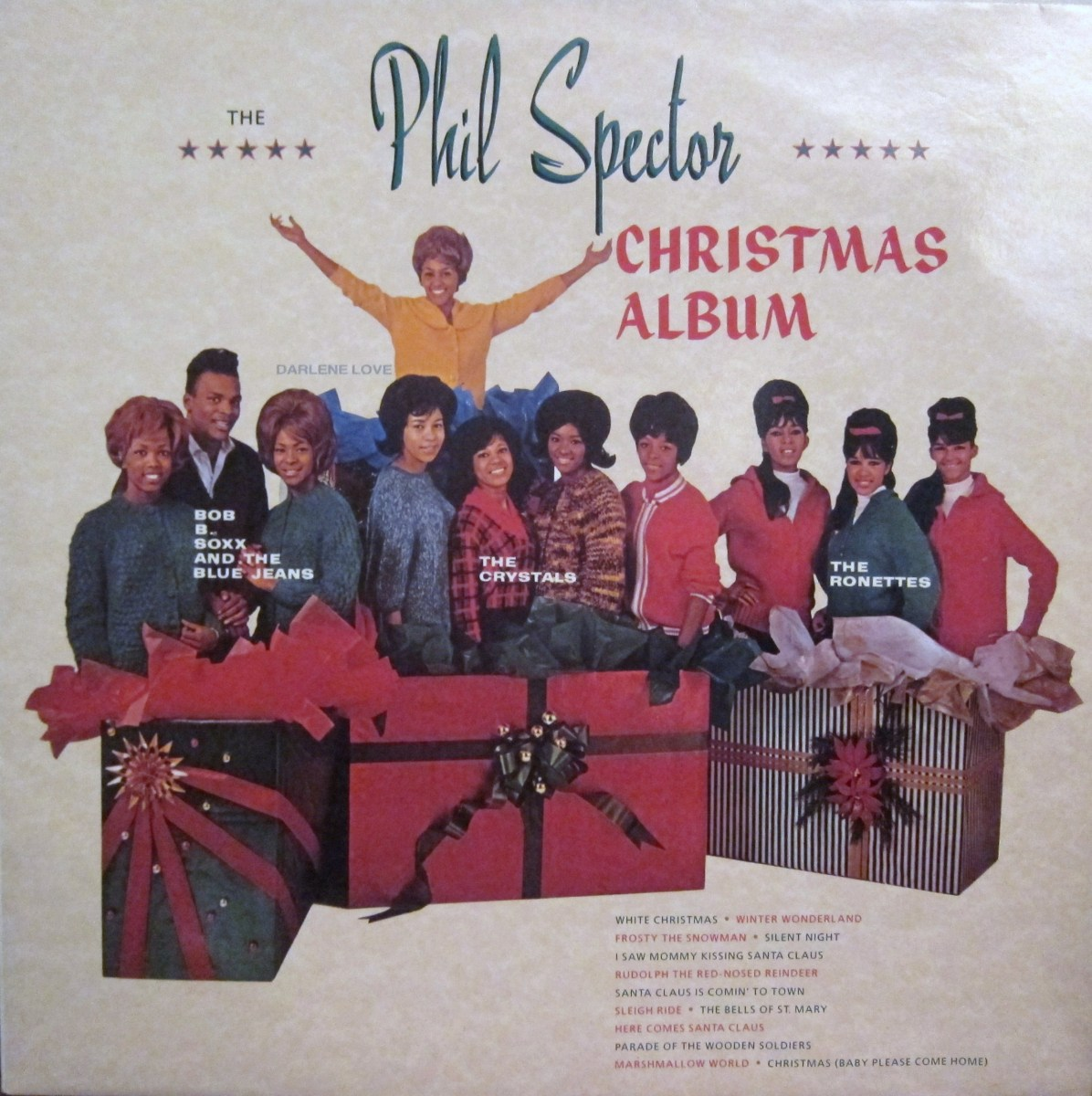 Ten Things You Didn't Know About Phil Spector's A Christmas Gift To You – Every record tells a story