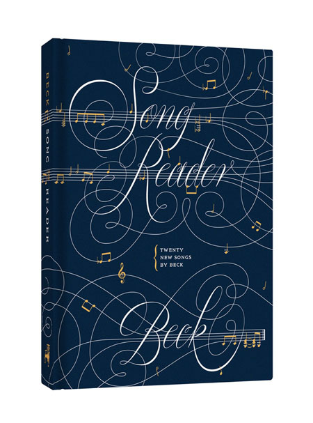 Song-Reader Beck Front cover