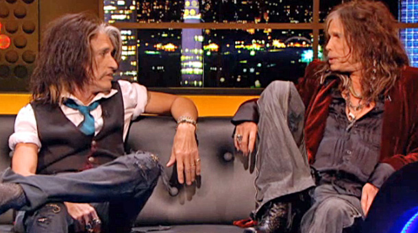 Aerosmith on Jonathan Ross