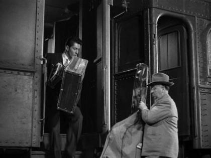Hitchcock Cello Strangers on a Train