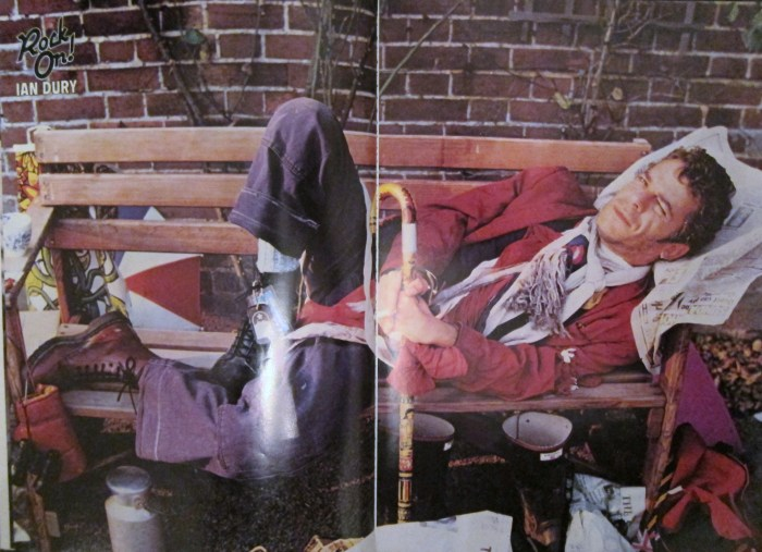 Ian Dury: The Rising Star of 1979 predicted to break America in 1980