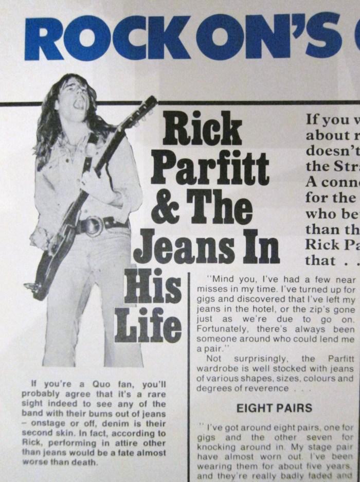 Rick Parfitt Status Quo