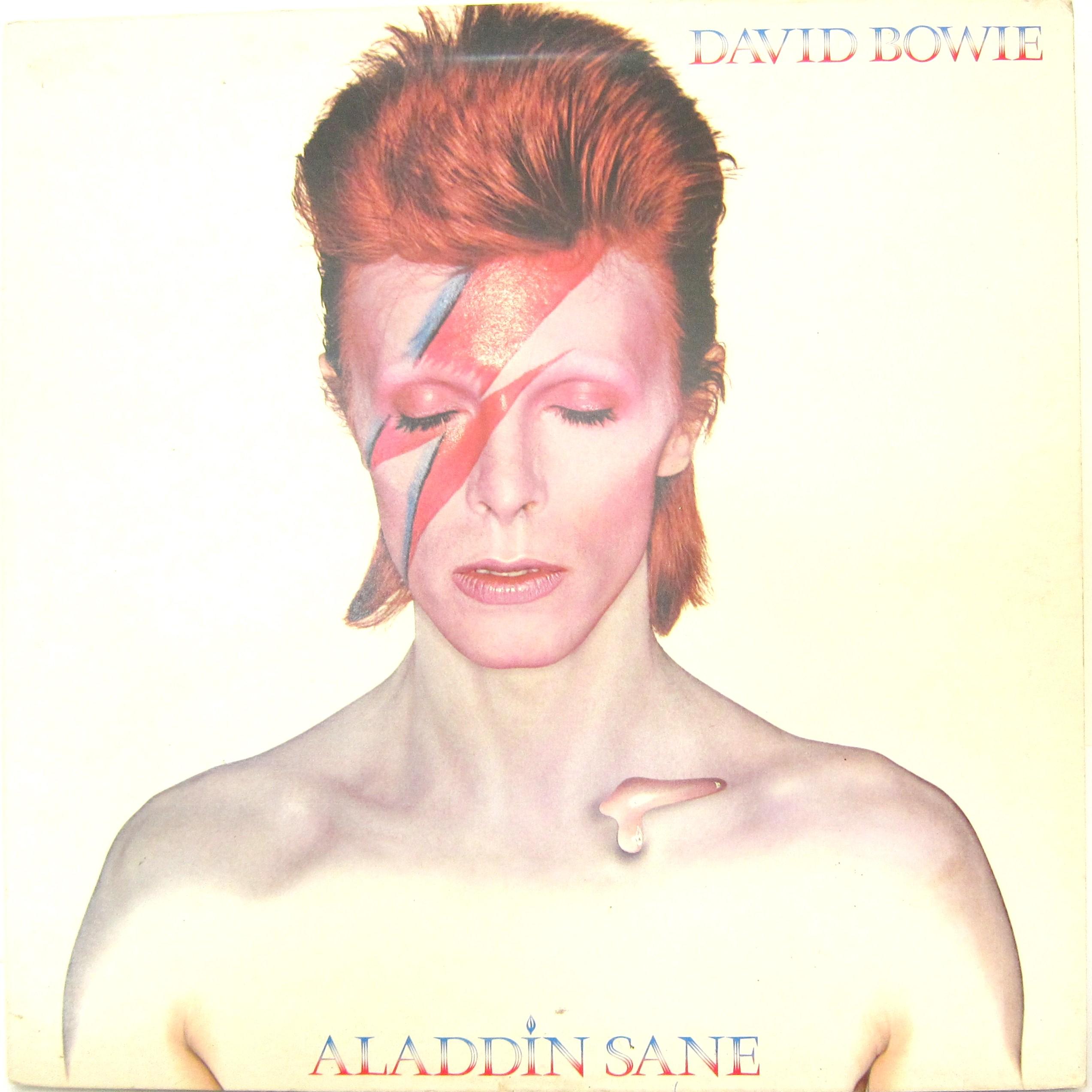 Aladdin Sane Album Cover David Bowie Every Record Tells