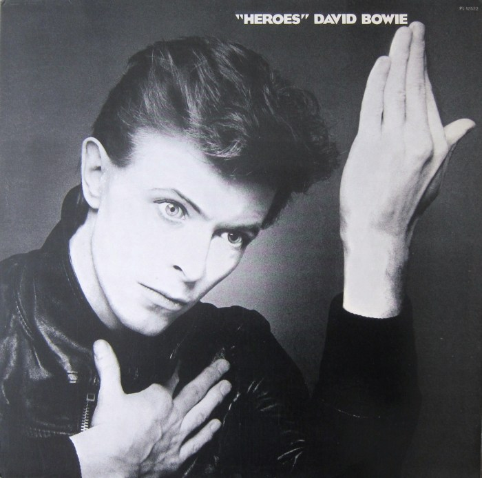 Bowie Heroes cover