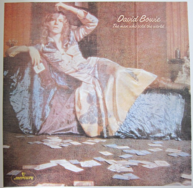 Bowie The Man Who Sold The World Dress Cover