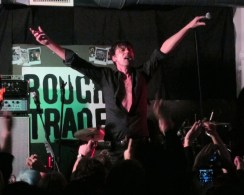 Brett Anderson of Suede at Rough Trade East