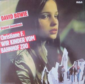 David Bowie Christiane F Wir Kinder Vom Bahnhof Zoo cover