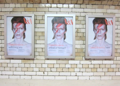 David Bowie Is.... on the Tube