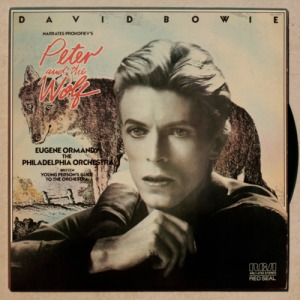 David Bowie Peter and the Wolf cover