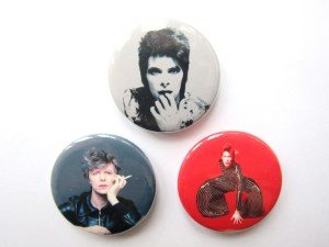 David Bowie Pin Badges Snap Gallery