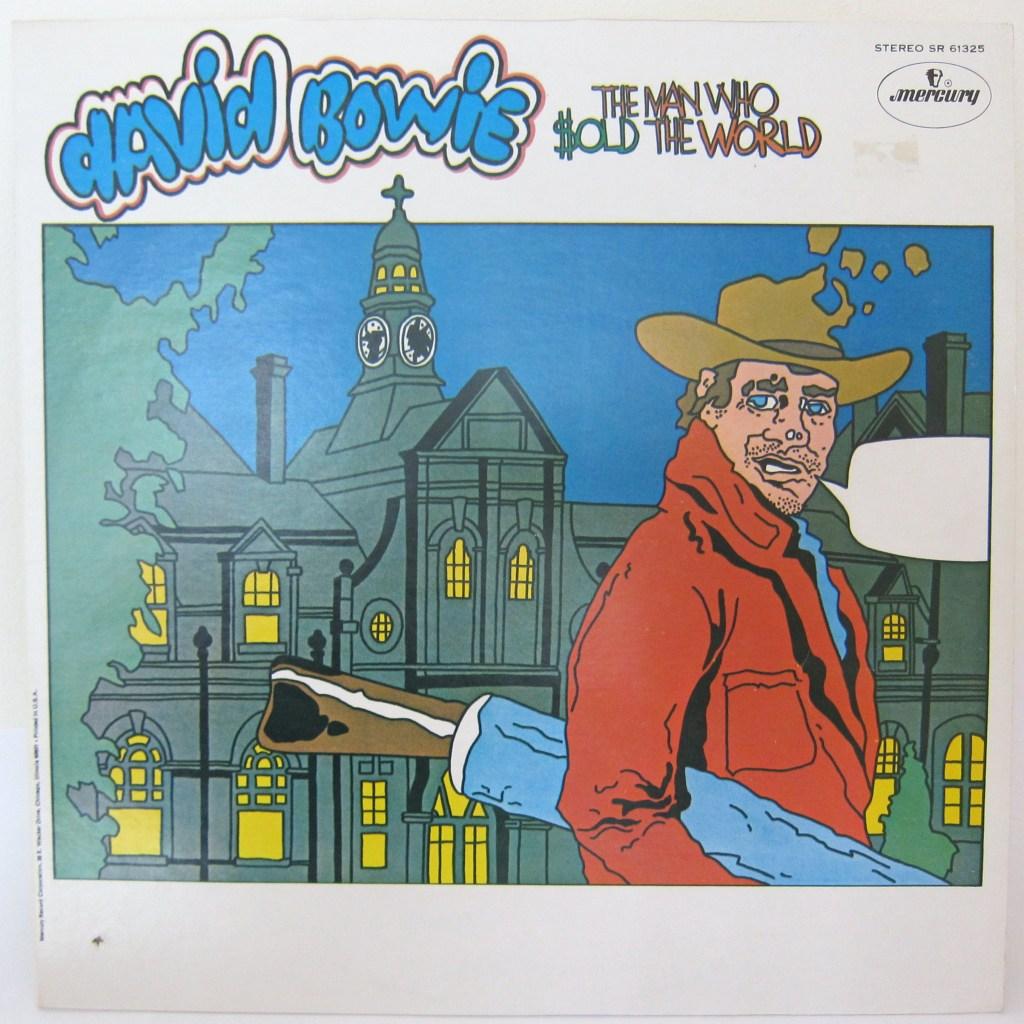 Cartoon cover David Bowie