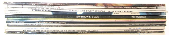 David Bowie Vinyl records
