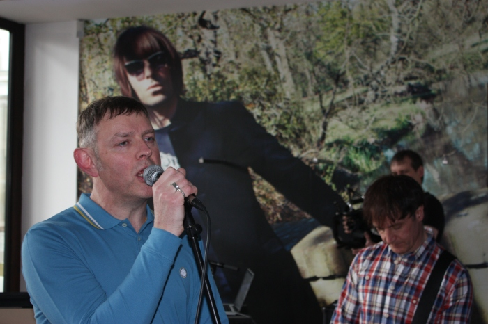 Inspiral Carpets at Pretty Green Liam Gallagher