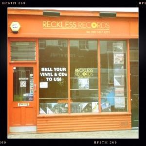 London Record shop