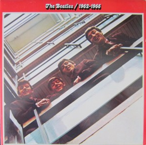 The Beatles Red Album 1962-1966 cover