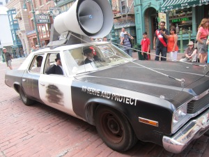 The Blues Brothers car