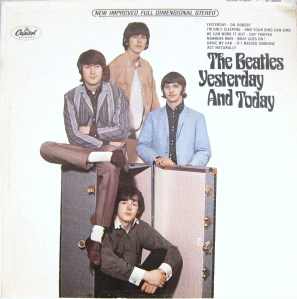 "The ""Trunk"" cover of The Beatles' Yesterday and Today stereo album"