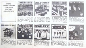 From the back cover of Yesterday and Today - some of those US Beatles albums