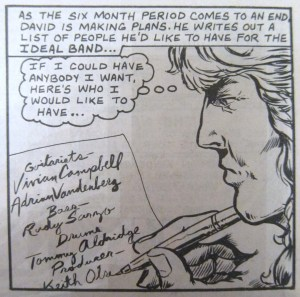David Coverdale Whitesnake rock n roll comics
