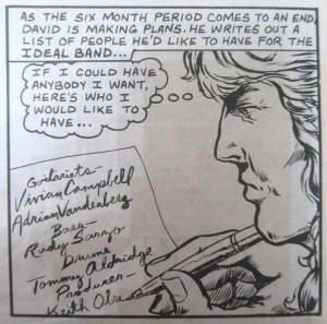David Coverdale Whitesnake rock n roll comics
