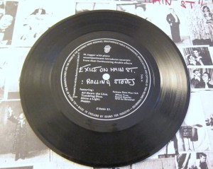 Exile on Main St Flexi disc Rolling Stones