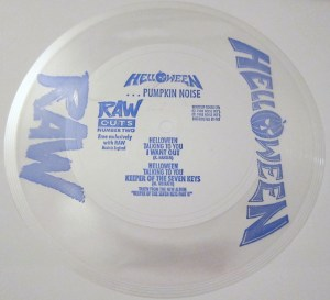 flexi disc Helloween RAW Magazine