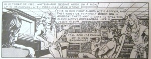 Whitesnake plan ahead rock n roll comics