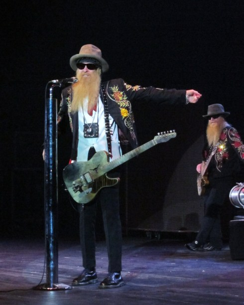 Billy Gibbons and Dusty Hill ZZ Top Hammersmith Apollo IMG_8041