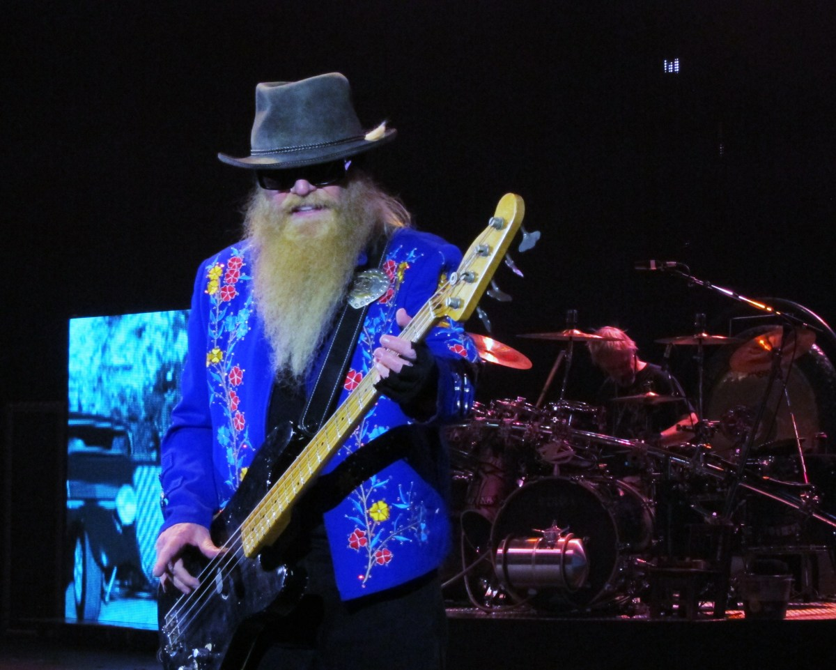 010a7fb4614 44 Years And Counting  ZZ Top Live At Hammersmith Apollo – Every record  tells a story