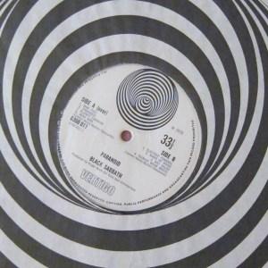Paranoid Black Sabbath large Swirl vertigo