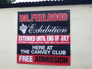 Dr Feelgood Exhibition poster