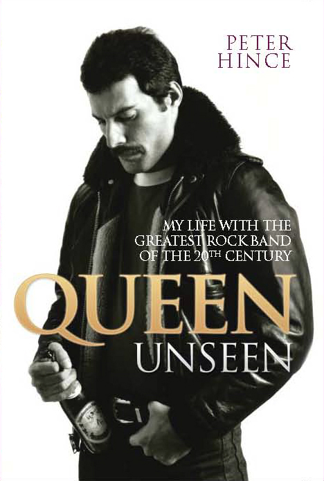 Queen_Unseen_Peter Hince Cover